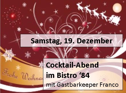 Cocktailabend X-Mas