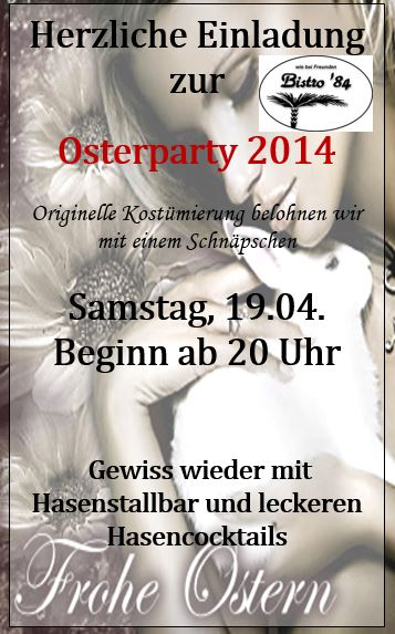 Osterparty 2014